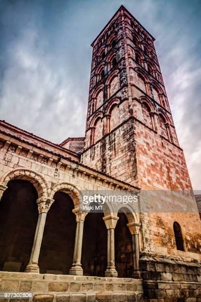 iglesia de san esteban - iñaki mt stock photos and pictures