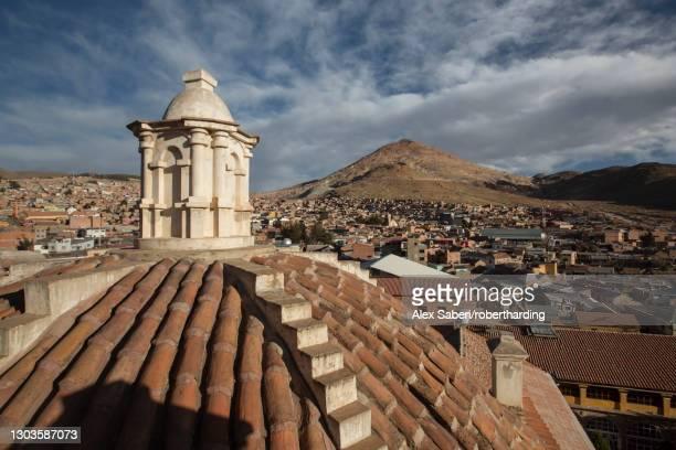 iglesia de san lorenzo de carangas, potosi, bolivia, south america - alex saberi stock pictures, royalty-free photos & images