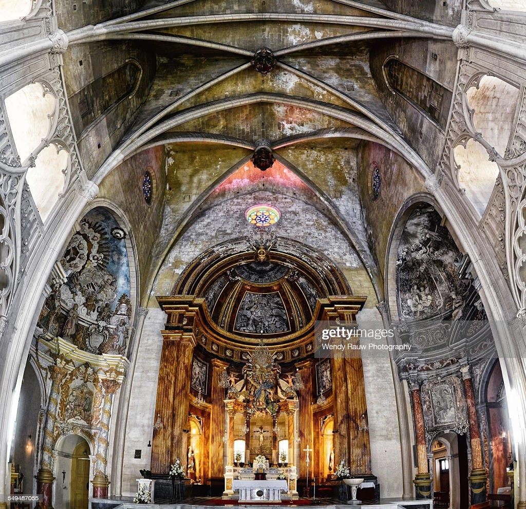 Iglesia De Santa María Mahón Menorca High Res Stock Photo Getty Images