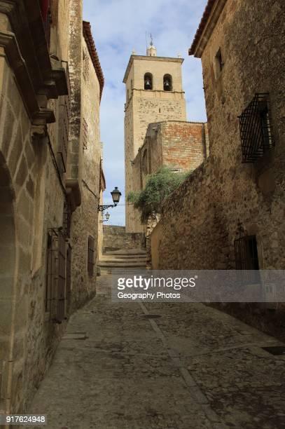 Iglesia de Santa Maria la Major church in historic medieval town of Trujillo Caceres province Extremadura Spain