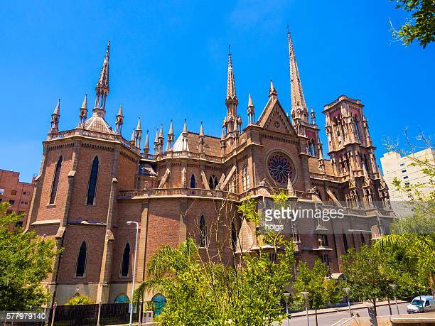 iglesia del sagrado corazon - cordoba argentina stock photos and pictures