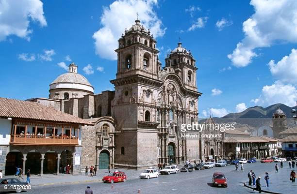 Iglesia La Compania de Jesus, Plaza de Armas, Cusco, Peru
