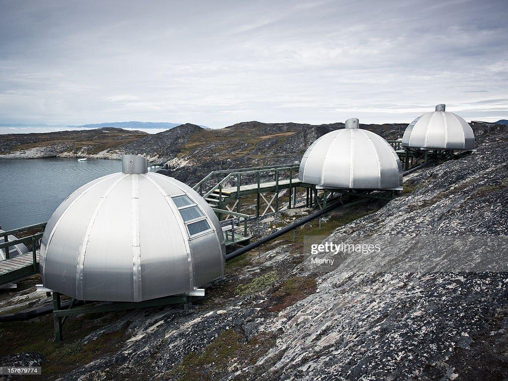 Iglu Arctic West Grönland : Stock-Foto