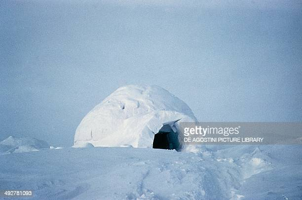 Igloo in the Arctic