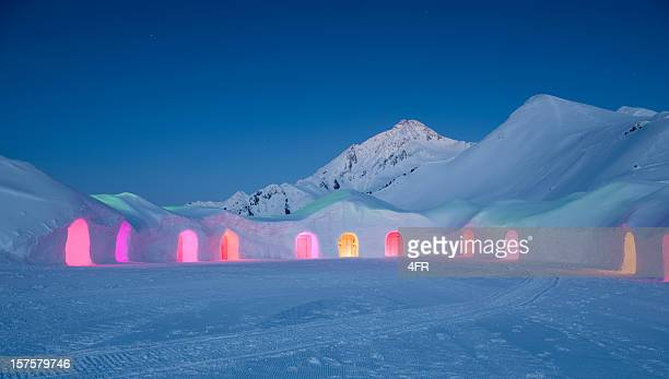 Igloo Village at Night (XXXL)