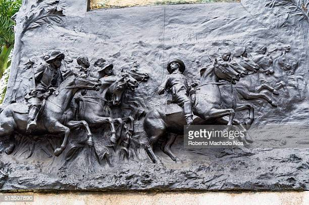 Ignacio Agramonte y Loynaz statue or sculpture in the plaza bearing his name Agramonte was a Cuban revolutionary who played an important part in the...