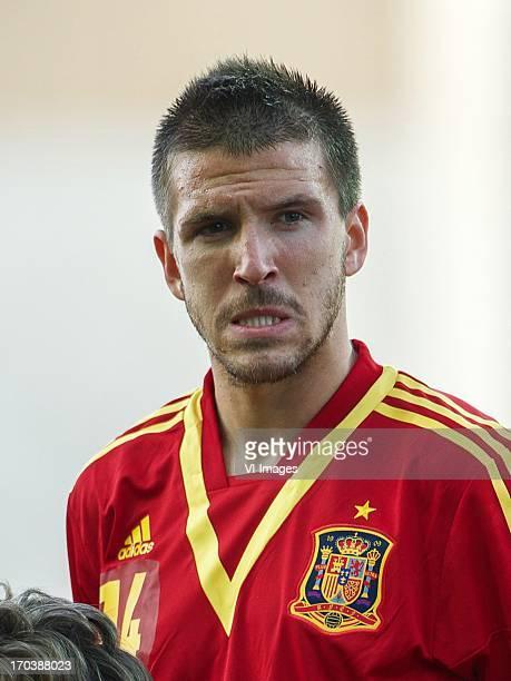 Ignacio Camacho of Spain U21 during the UEFA U21 Championship match between Spain U21 and Netherlands U21 on June 12 2013 at the Ha Moshava stadium...