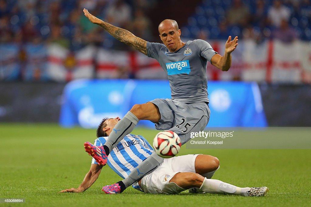 FC Malaga v Newcastle United - Schalke 04 Cup Day 1