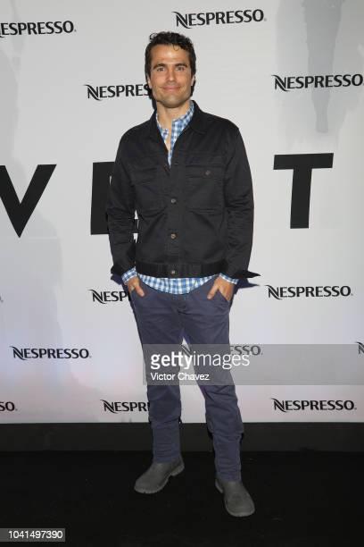 Ignacio Casano attends the Nespresso Vertuo launch on September 26 2018 at Piacere in Mexico City Mexico