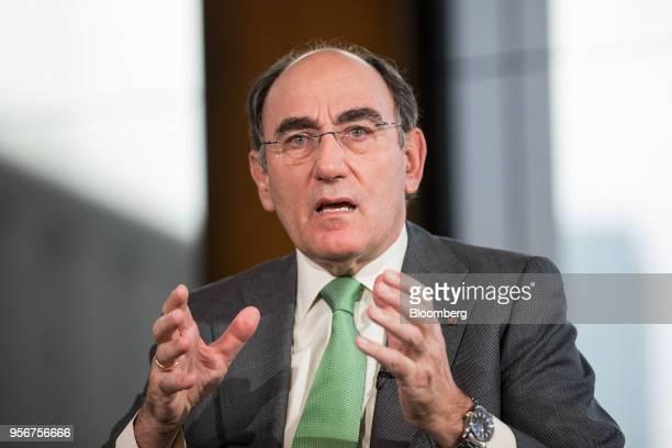 Jose Ignacio Sanchez Galan Stock Photos and Pictures ...