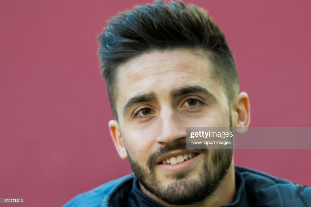 Ignacio Gil de Pareja of UD Las Palmas prior to the La Liga 2017-18 match between Atletico de Madrid and UD Las Palmas at Wanda Metropolitano on January 28 2018 in Madrid, Spain.