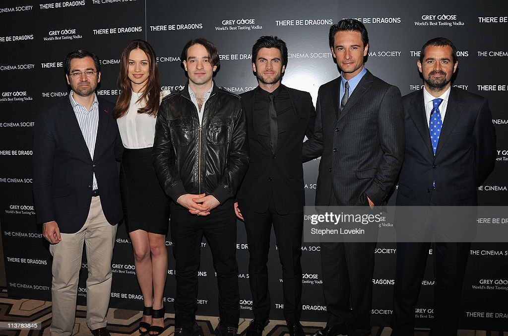 """The Cinema Society & Grey Goose Host A Screening Of """"There Be Dragons"""" - Arrivals : News Photo"""