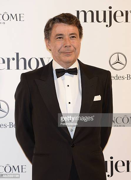 Ignacio Gonzalez attends the 2014 Mujer Hoy Awards at The Palace Hotel on December 16 2014 in Madrid Spain