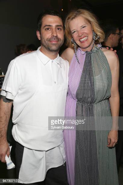 Ignacio Mattos and Lela Rose attend Edible Schoolyard NYC 2018 Spring Benefit at 180 Maiden Lane on April 16 2018 in New York City