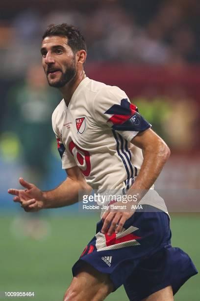 Ignacio Piatti of MLS All Stars during the 2018 MLS AllStars game between Juventus v MLS AllStars at MercedesBenz Stadium on August 1 2018 in Atlanta...