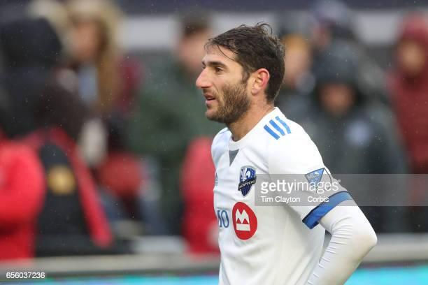 Ignacio Piatti of Montreal Impact in action during the New York City FC Vs Montreal Impact regular season MLS game at Yankee Stadium on March 18 2017...