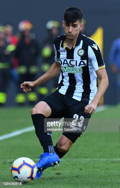 Ignacio Pussetto of Udinese Calcio in actionduring the serie A match between Udinese and Torino FC at Stadio Friuli on September 16 2018 in Udine...