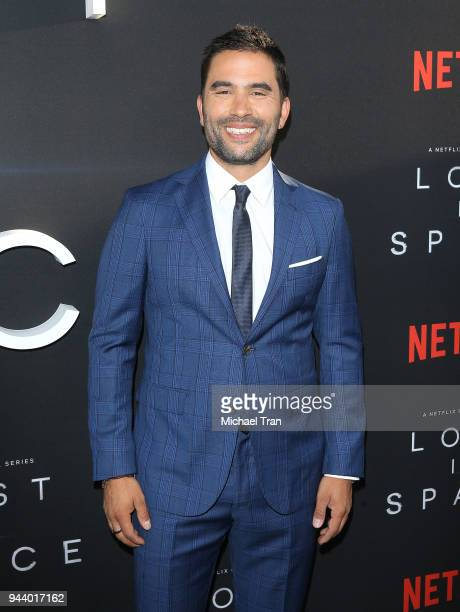 Ignacio Serricchio arrives to the Los Angeles premiere of Netflix's 'Lost In Space' Season 1 held at The Cinerama Dome on April 9 2018 in Los Angeles...