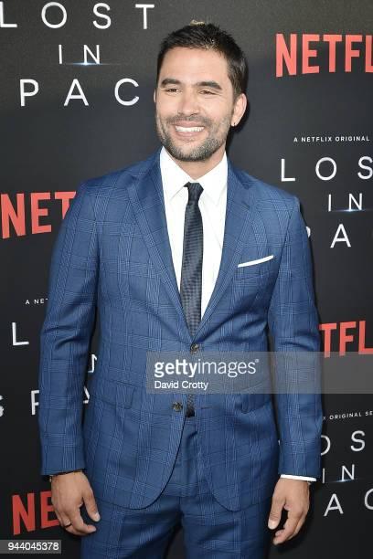 Ignacio Serricchio attends the 'Lost In Space' Season 1 Premiere at ArcLight Cinerama Dome on April 9 2018 in Hollywood California