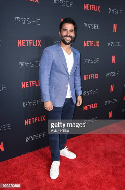 Ignacio Serricchio attends the Netflix FYSee Kick Off Party at Raleigh Studios on May 6 2018 in Los Angeles California