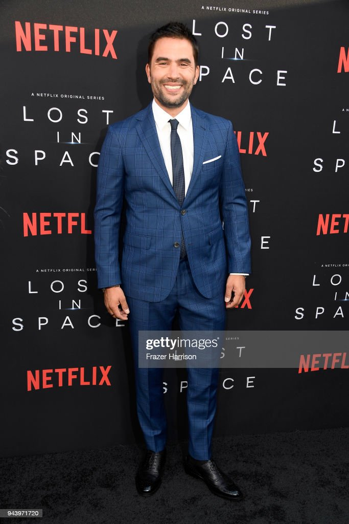 Ignacio Serricchio attends the premiere of Netflix's 'Lost In Space' Season 1 at The Cinerama Dome on April 9, 2018 in Los Angeles, California.