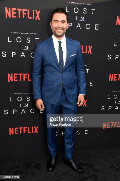 Ignacio Serricchio attends the premiere of Netflix's 'Lost In Space' Season 1 at The Cinerama Dome on April 9 2018 in Los Angeles California