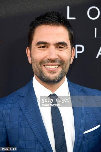 Ignacio Serricchio attends the premiere of Netflix's 'Lost In Space' Season 1 at The Cinerama Dome on April 9 2018 in Los Angeles California