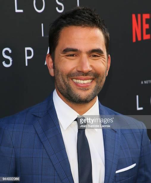 Ignacio Serricchio attends the premiere of Netflix's 'Lost In Space' Season 1 on April 9 2018 in Los Angeles California