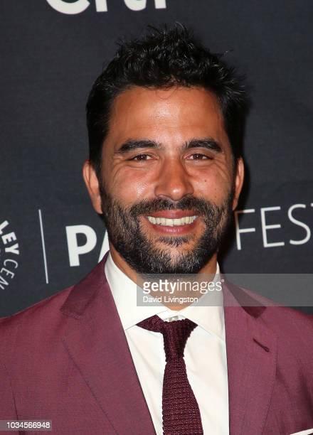Ignacio Serricchio from 'El Recluso' attends The Paley Center for Media's 2018 PaleyFest Fall TV Previews Telemundo at The Paley Center for Media on...