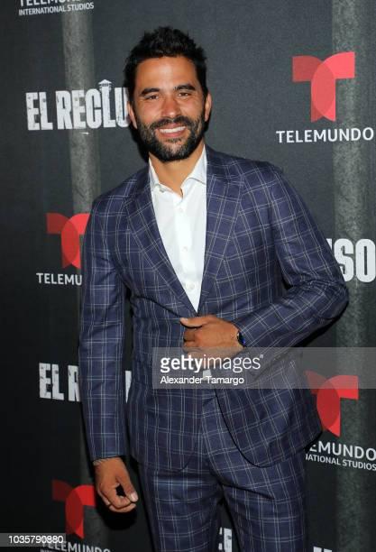 Ignacio Serricchio is seen at the 'El Recluso' private screening at Telemundo Center on September 18 2018 in Miami Florida