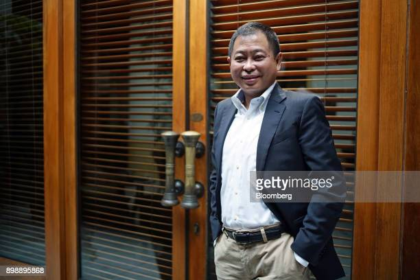 Ignasius Jonan Indonesia's energy and mineral resources minister poses for a photograph in Jakarta Indonesia on Saturday April 22 2017 Indonesia...
