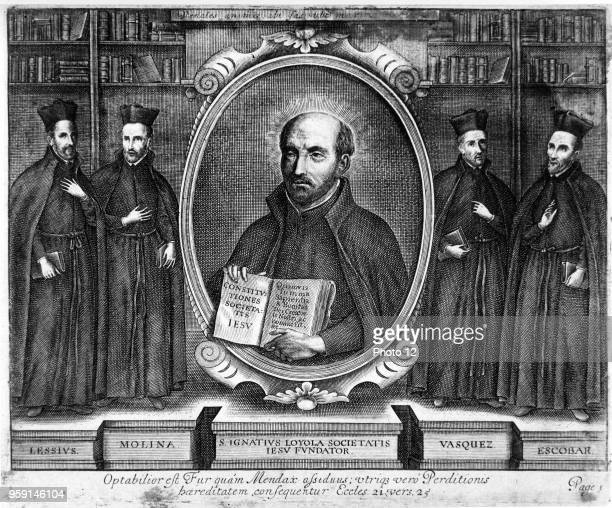 Ignatius of Loyola founder of the Society of Jesus