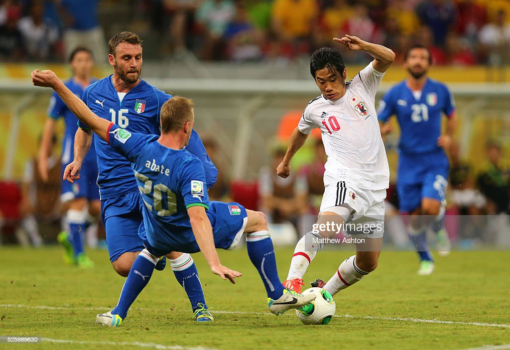 Soccer : FIFA 2013 Confederations Cup - Group A : Italy v Japan : News Photo
