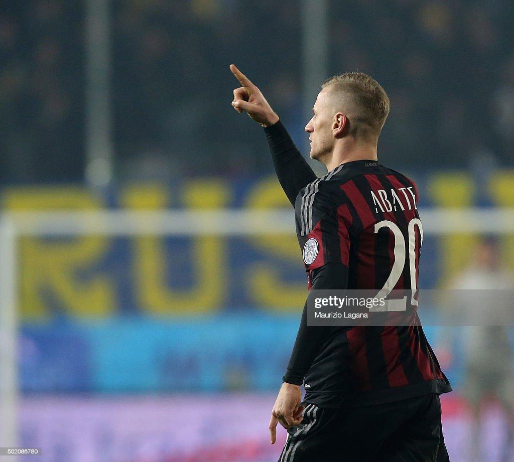 Frosinone Calcio v AC Milan - Serie A : News Photo