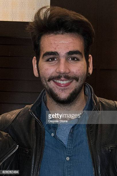 Ignazio Boschetto appears at Il Volo's CD signing at Barnes Noble at The Grove on December 6 2016 in Los Angeles California