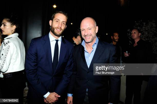 Ignazio Cipriani and Giuseppe Cipriani attend The Cinema Society And Brooks Brothers Host The After Party For Sony Pictures Classics' The Happy...