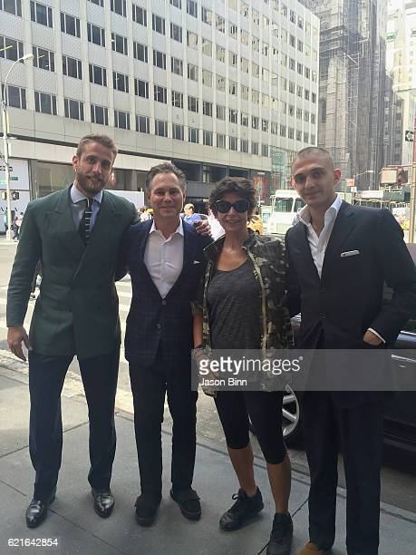 Ignazio Cipriani, Jason Binn, Eleonora Gardini, Maggio Cipriani circa September 2016 in New York City.