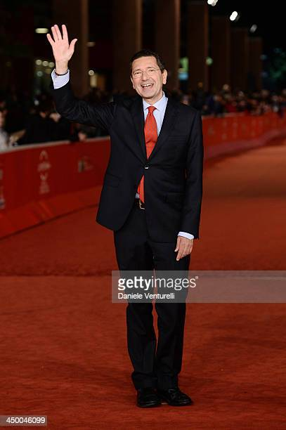 Ignazio Marino attends the Award Ceremony Red Carpet during The 8th Rome Film Festival on November 16 2013 in Rome Italy