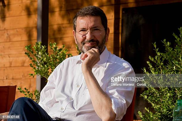 Ignazio Marino mayor of Rome intervenes to the party of the Left Ecology Freedom to Garbatella district on June 23 2015 in Rome Italy