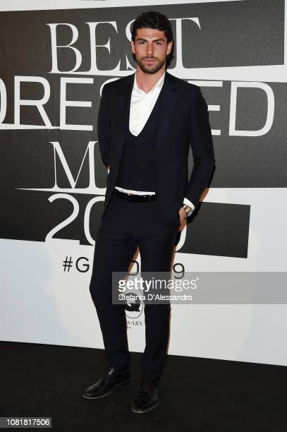 Ignazio Moser attends the GQ Best Dressed Men 2019 during Milan Menswear Fashion Week Autumn/Winter 2019/20 on January 11 2019 in Milan Italy