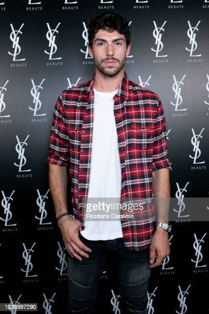 Ignazio Moser attends Ysl Beauty Club Milan during Milan Fashion Week Spring/Summer 2019 on September 23 2018 in Milan Italy