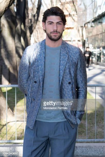 Ignazio Moser guests at the last day of Milan Fashion Week Man Fall/Winter 2019 Milan January 14th 2019