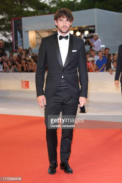 Ignazio Moser walks the red carpet ahead of the Om Det Oandliga screening during the 76th Venice Film Festival at Sala Grande on September 03 2019 in...
