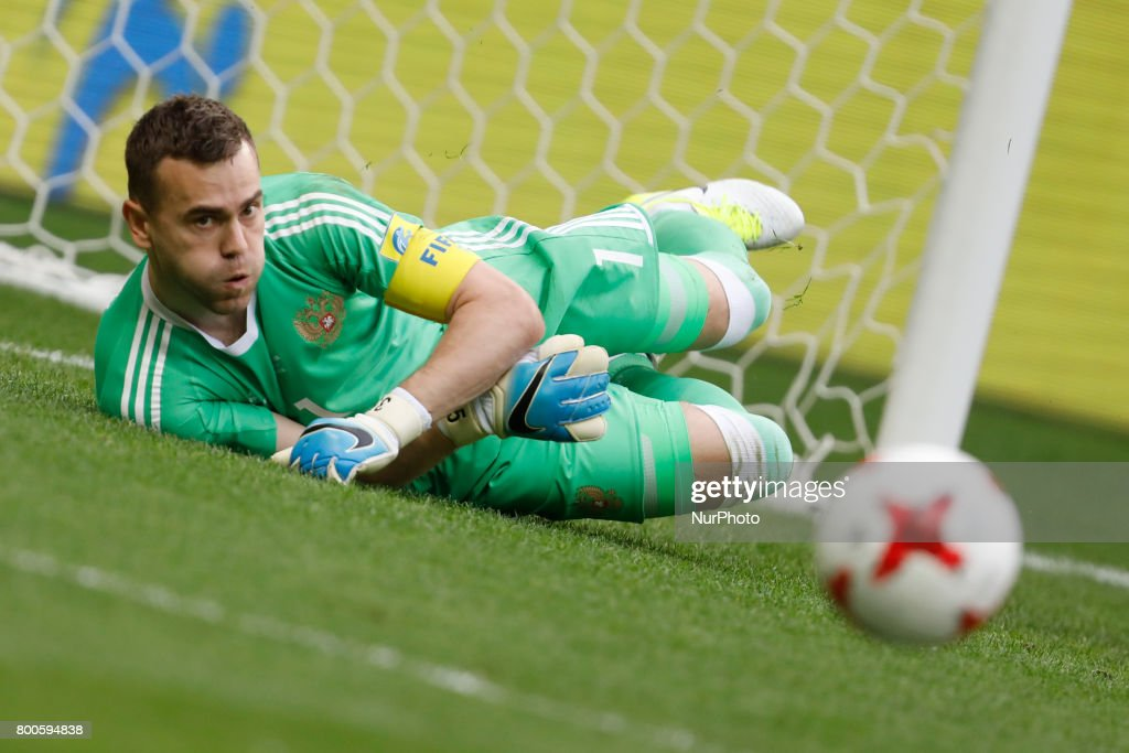 FIFA Confederations Cup Russia 2017 Mexico V Russia Group A : News Photo