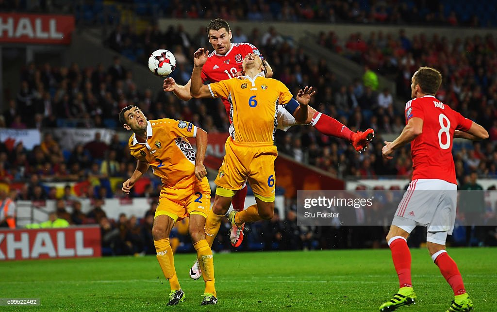 Wales v Moldova - 2018 FIFA World Cup Qualifier : News Photo