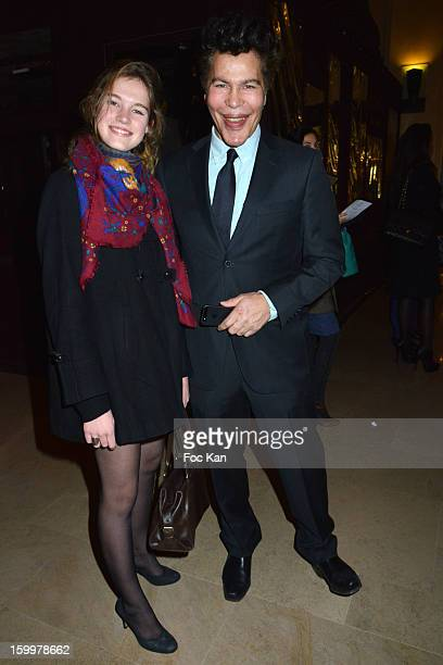 Igor Bogdanoff and Gaelle de l'Etoille attend the Lady R by Rowena Forrest Show Dinner Paris Fashion Week HauteCouture Spring/Summer 2013 at Lady R...