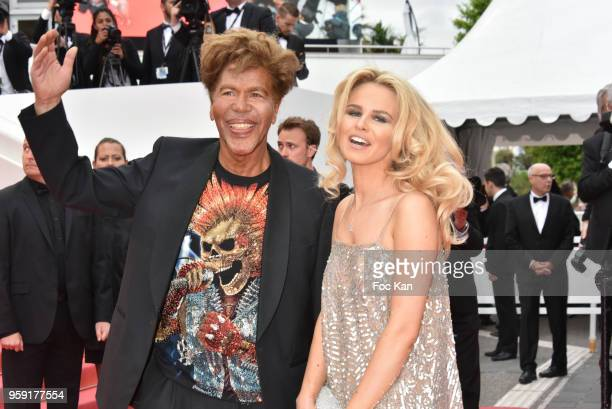 Igor Bogdanoff and Julie Jardon attend the screening of 'Solo A Star Wars Story' during the 71st annual Cannes Film Festival at Palais des Festivals...
