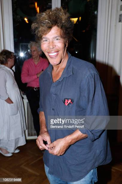 Igor Bogdanoff attends the La Conversation Theater Play at Theatre du Gymnase MarieBell on October 16 2018 in Paris France