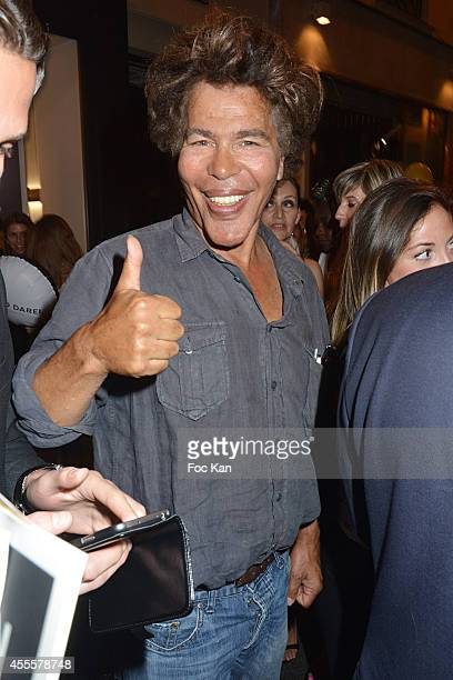 Igor Bogdanoff attends the Vogue Fashion Night Out 2014' In Paris on September 16 2014 in Paris France