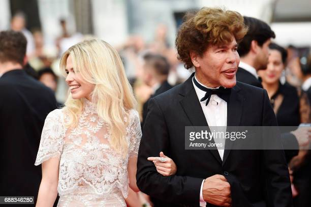Igor Bogdanov and Julie Jardon attend the Twin Peaks screening during the 70th annual Cannes Film Festival at Palais des Festivals on May 25 2017 in...